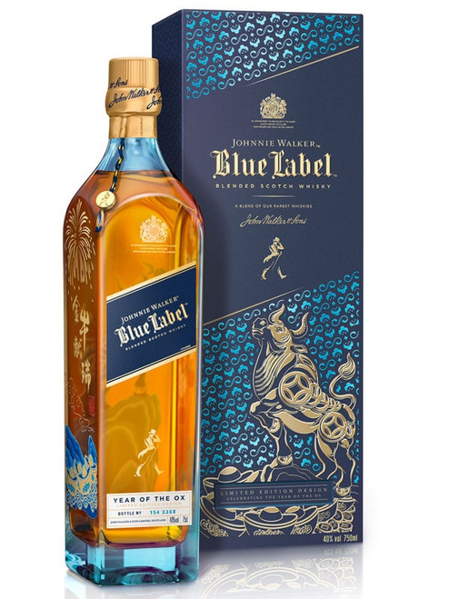 Johnnie Walker Blue Label Year Of The OX Limited Edition Scotch Whisky 750mL