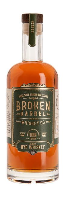 Broken Barrel Small Batch Whiskey Co. Heresy Rye Whiskey 750mL