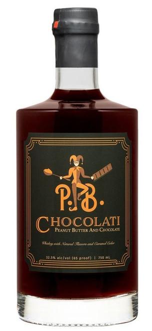 P.B. Chocolati Peanut Butter And Chocolate Flavored Whiskey 750mL