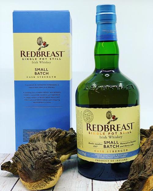 Redbreast Small Batch Cask Strength Single Pot Still Irish Whiskey 750mL