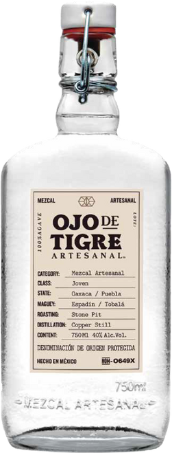 Ojo de Tigre Artesanal Joven Mezcal 750mL