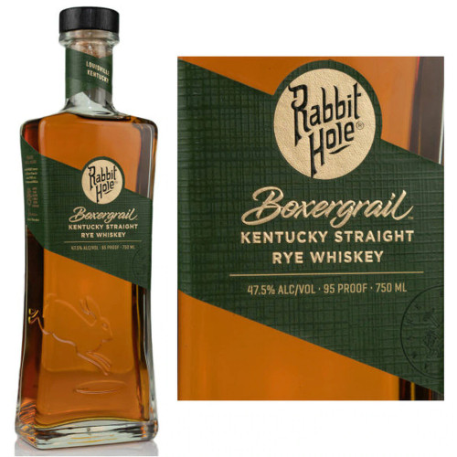 Rabbit Hole Boxergrail Kentucky Straight Rye Whiskey 750mL
