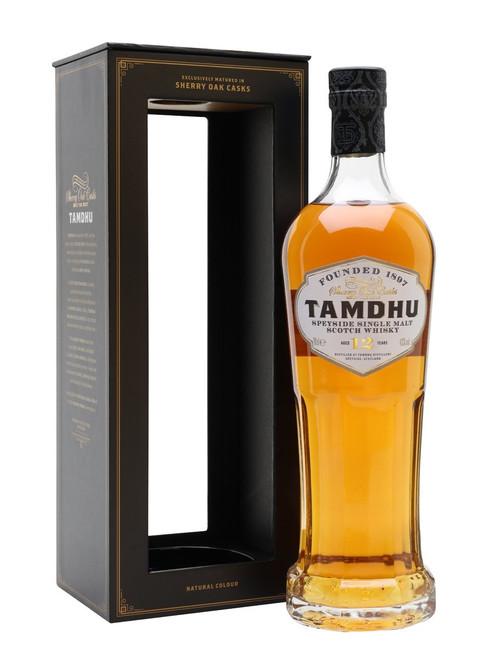 Tamdhu 12 Year Speyside Single Malt Scotch Whisky 750mL