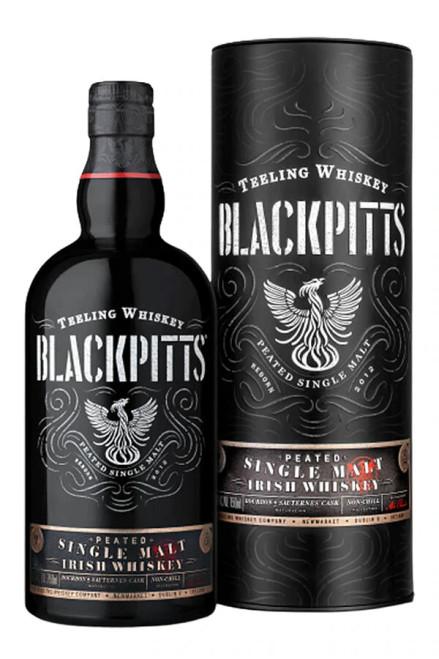 Teeling Blackpitts Peated Irish Single Malt Whiskey 750mL