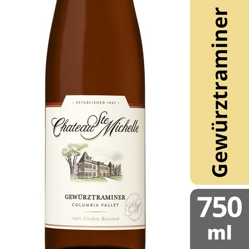 Chateau Ste Michelle 2018 Columbia Valley Gewürztraminer 750mL