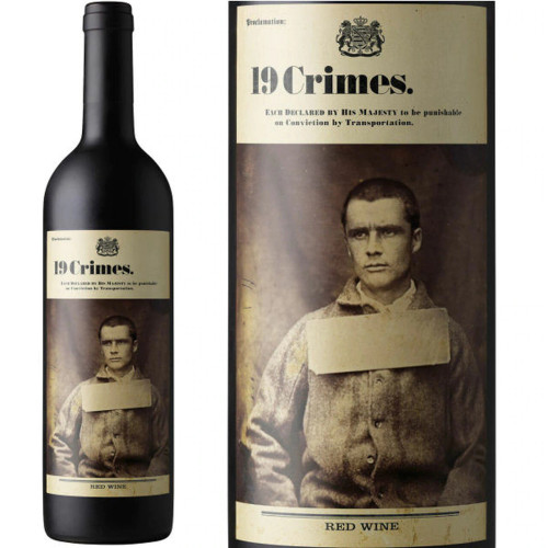 19 Crimes 2019 Red Wine 750mL