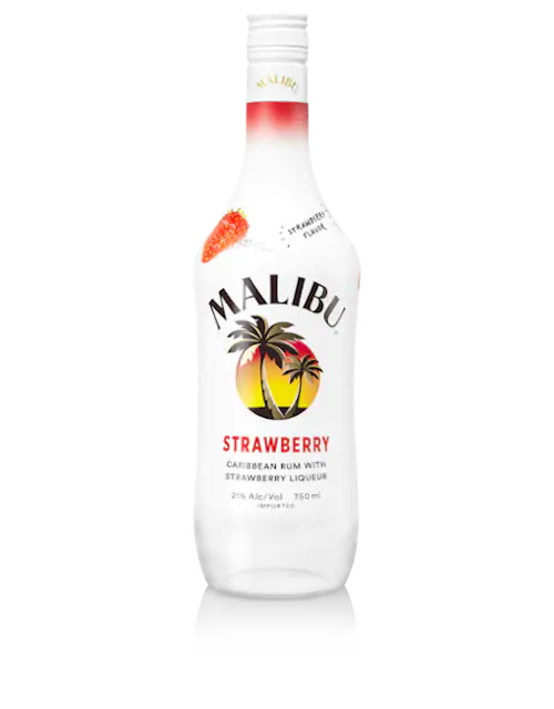 Malibu Strawberry Caribbean Rum 750mL