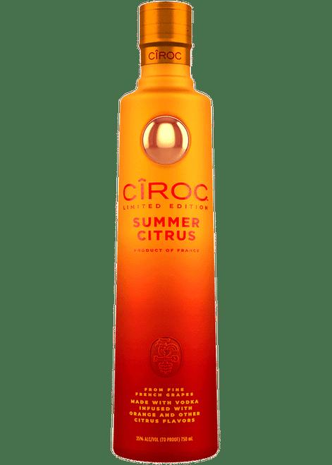 CÎROC™ Limited Edition Summer Citrus Flavored Vodka 750mL