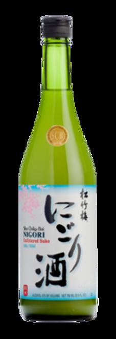 Sho Chiku Bai Nigori Unfiltered Sake Silky Mild 750mL