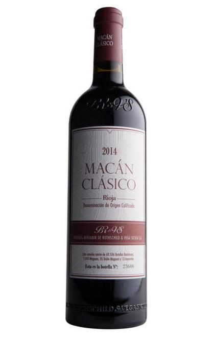 Bodegas Benjamin de Rothschild & Vega Sicilia SA 2014  Macán Clásico Rioja Red Wine 1.5L
