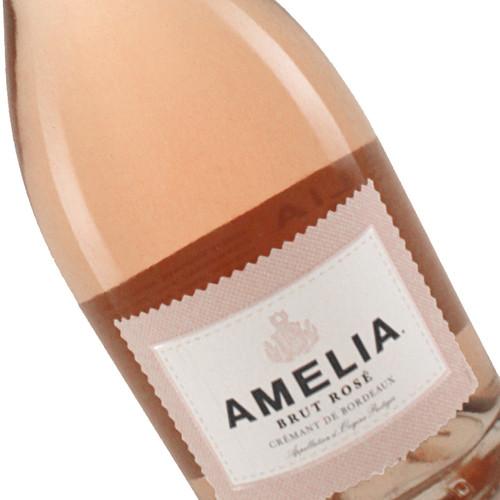 Amelia Brut Rosé Crémant de Bordeaux Sparkling Wine 750mL