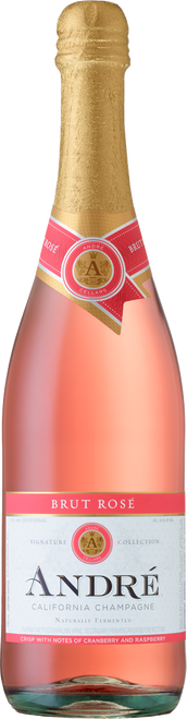 André Brut Rosé California Champagne 750mL