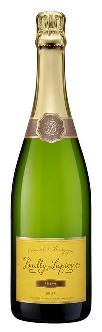 Bailly Lapierre Crémant de Bourgagne Réserve Brut White Sparkling Wine 750mL