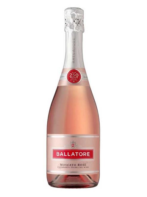 Ballatore Moscato Rosé California Sparkling Wine 750mL