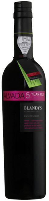 BLANDY'S Alvada 5 Year Old Rich Madeira 500mL