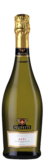 Filipetti Asti D.O.C.G. Sparkling Italian White Wine 750mL