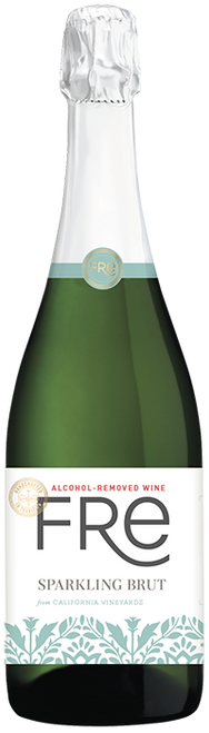 Fre California Vineyards Alcohol-Removed Sparkling Brut Wine 750mL
