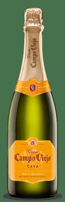 Gran Campo Viejo Cava Brut-Reserva Sparkling Wine 750mL
