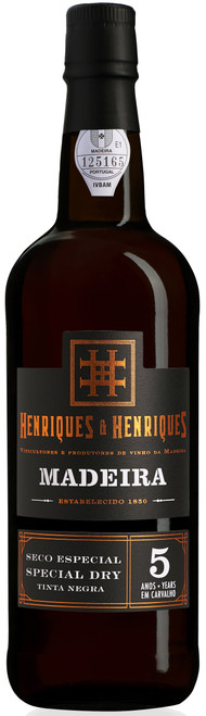 Henriques & Henriques Seco Especial Special Dry Tinta Negra 5 Years Madeira 750mL