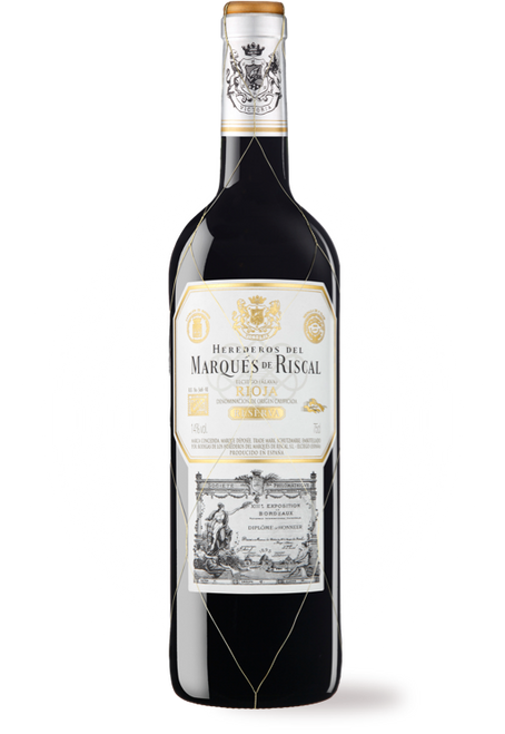 Herederos del Marqués de Riscal 2014 Reserva Rioja Spanish Red Wine 750mL