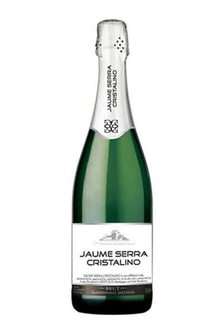 Jaume Serra Cristalino Brut Cava Sparkling Wine 750mL