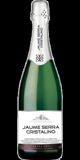 Jaume Serra Cristalino Extra Dry Cava Sparkling Wine 750mL