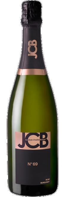 JCB Cremant de Bourgogne N° 69 Rosé Burgundy French Sparkling Rosé Wine - Brut 750mL