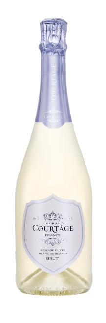 Le Grand Courtâge Grand Cuvée Blanc de Blancs Brut Sparkling Wine 750mL