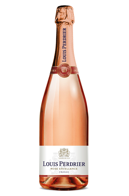 Louis Perdrier Rosé Excellence French Champagne 750mL