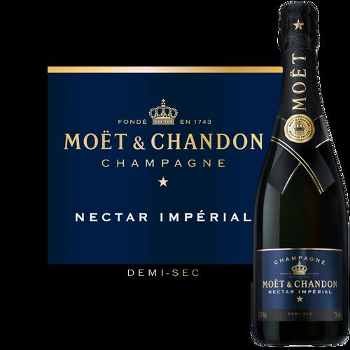 Moët & Chandon Nectar Impérial Champagne 750mL