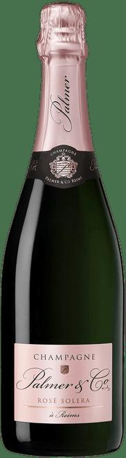 Palmer & Co Rosé Solera Champagne 750mL