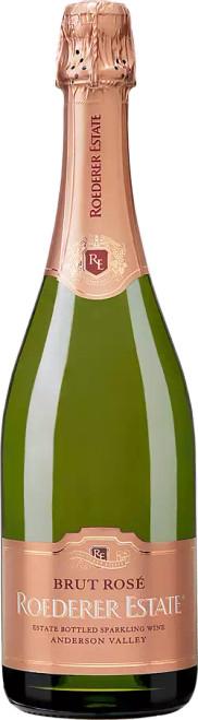 Roederer Estate Brut Rosé Estate Bottled Anderson Valley Sparkling Wine 750mL