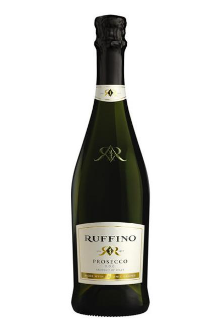 Ruffino Prosecco DOC Made With Organic Grapes White Sparkling Wine 375mL