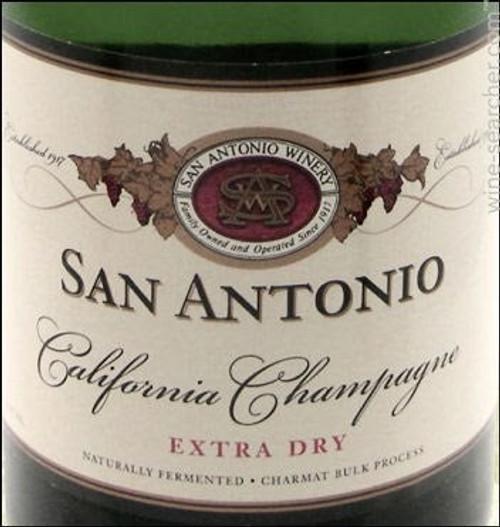 San Antonio Extra Dry California Champagne 750mL