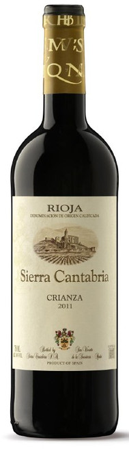 Sierra Cantabria Crianza 2011 Rioja Spanish Red Wine 750mL