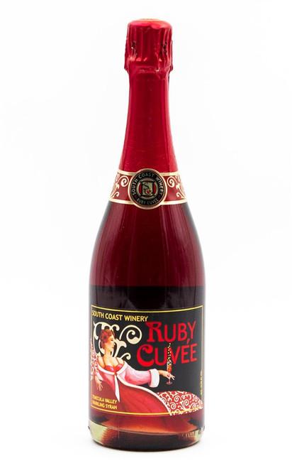 South Coast Winery Ruby Cuvée Temecula Valley Sparkling Syrah 750mL