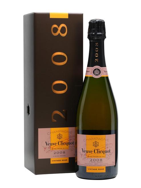Veuve Clicquot Champagne 2008 Brut Vintage 750mL Gift Box