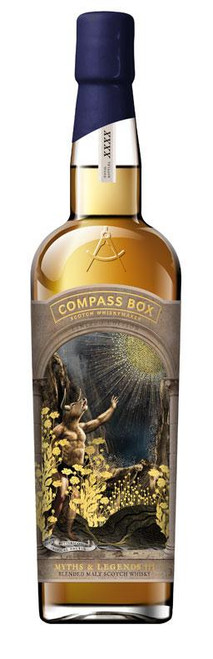 Compass Box Limited Edition Myths & Legends III Blended Malt Scotch Whiskey 750mL
