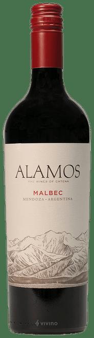 Alamos Malbec Mendoza · Argentina 2018 Red Wine 750mL