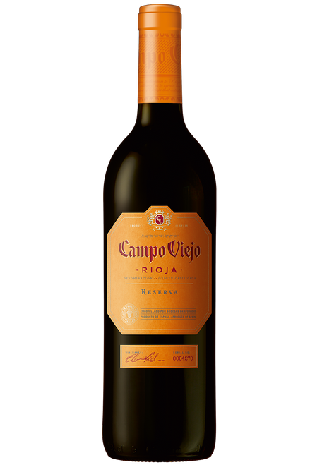 Bodegas Campo Viejo Rioja Reserva 2014 Spanish Red Wine 750mL
