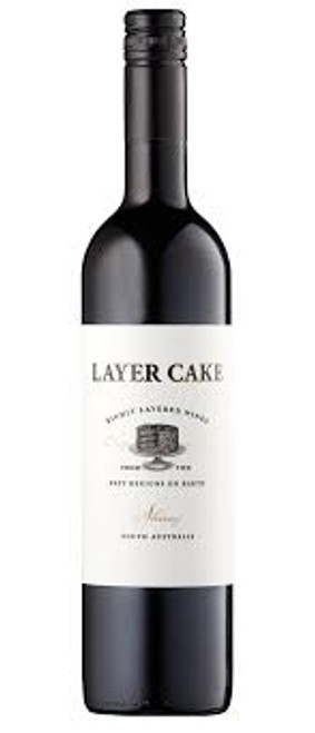 Layer Cake One Hundred Percent Hand Crafted Shiraz Vintage 2015 South Australia Wine 750mL