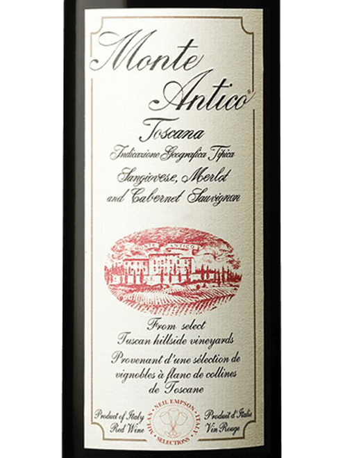 Monte Antico Toscana 2013 Itailian Red Wine 750mL