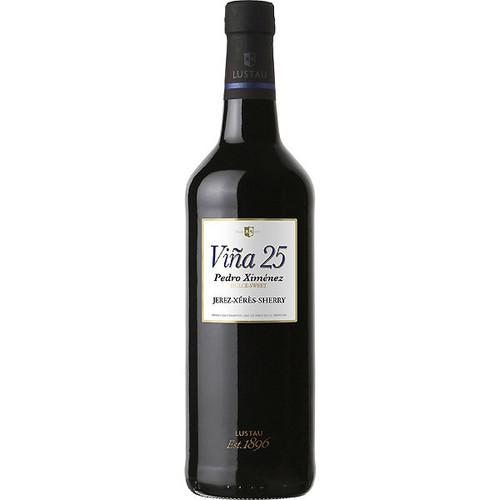 Lustau Viña 25 Muy Dulce Pedro Ximénez - Very Sweet Jerez-Xérès-Sherry 750mL