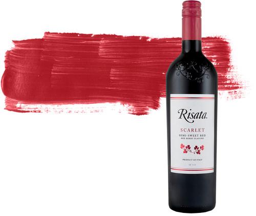 Risata Scarlet Semi-Sweet Italian Red Wine 750mL
