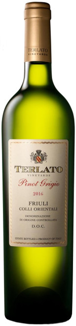 Terlato Vineyards 2016 Pinot Grigio D.O.C. Italian White Wine 750mL