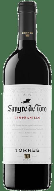 Torres Sangre de Toro Tempranillo 2017 Spanish Red Wine 750mL