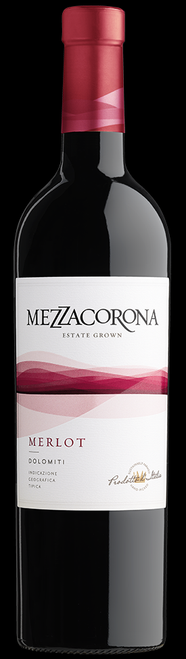 Mezzacorona Estate Bottled 2018 Merlot Vigneti Delle Dolomiti IGT 750mL