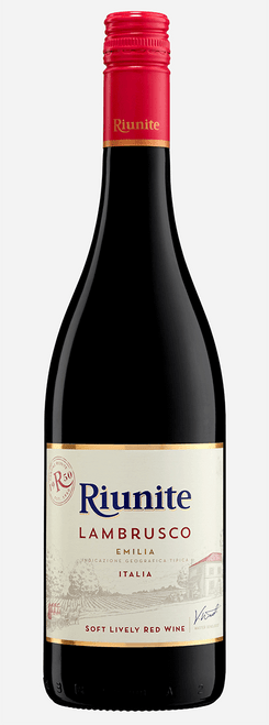 Riunite Lambrusco Emilia Italia Soft Lively Red Wine 750mL