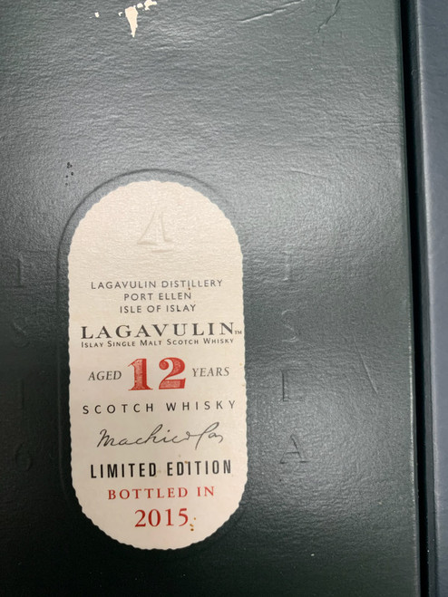 Lagavulin 12 Year Old Limited Release Bottled in 2015 Islay Single Malt Scotch Whisky 750mL