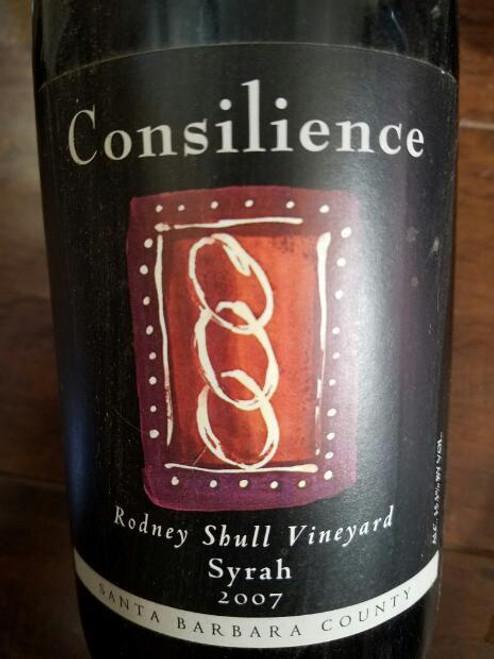 Consilience 2007 Rodney Skull Vineyard Santa Barbara County Syrah 750mL
